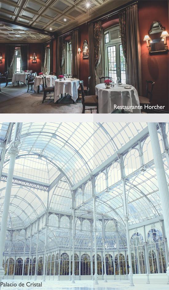 Palacio Cristal - Restaurante Horcher